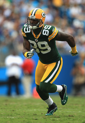 James Jones had his first touchdown reception of 2011 in Week 4.