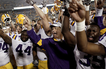 LSU Team after Victory