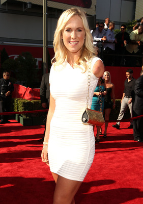 LOS ANGELES, CA - JULY 13:  Surfer Bethany Hamilton arrives at The 2011 ESPY Awards at Nokia Theatre L.A. Live on July 13, 2011 in Los Angeles, California.  (Photo by Christopher Polk/Getty Images for ESPN)