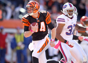 Andy Dalton led the Bengals over Buffalo.