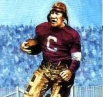 Jim Thorpe was the ultimate sports slash having played football, baseball, basketball, as well as having won Olympic Gold in the pentathlon and decathlon.  Currently Tim Tebow's presence in the NFL has made it important to encapsulate an over-looked facet of football.