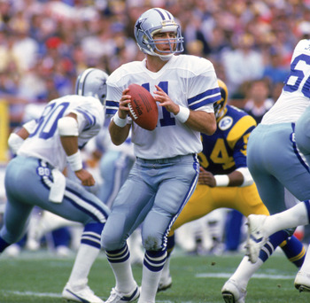 "Danny White is most famous for a famous comeback against the Atlanta Falcons and being the losing quarterback vs. Joe Montana in a game defined by ""The Catch""."