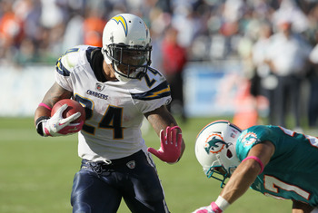 Ryan Mathews is in line for a big day against the Broncos leaky pass defense.