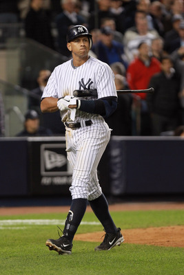 A-Rod, shown trying to calculate the value of each K in his head