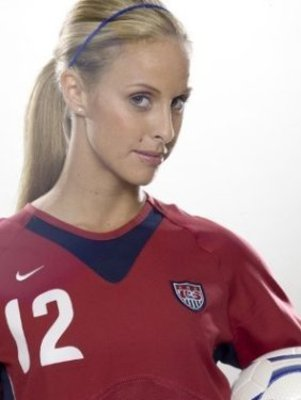 She broke through in the US National team when she was 21 years old, ...