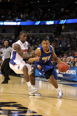 Orlando Johnson scored 21 points in the Gauchos' first round loss to Florida.