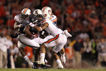 Auburn's defense had few answers for the Razorbacks high-powered offense