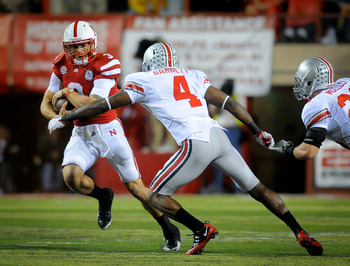 The Ohio State defense became victim to play fakes and options.