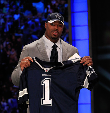 Cowboys finally draft youth for offensive line in 2011.