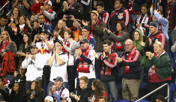 Red Bulls supporters savor an important win against LA.