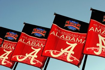Alabama claimed the 2009 BCS National Championship