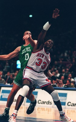 Ewing averaged double-digit rebounds for 10 straight seasons