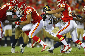 Jackie Battle had 119 yards for the Chiefs Sunday.