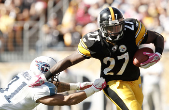 Jonathan Dwyer had 107 yards on the ground for the Steelers