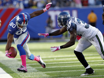 Victor Cruz had his dancing shoes on for Giants Sunday.
