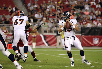 Tebow vs. Cardinals September 1, 2011