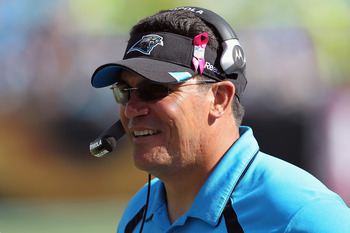 Carolina Panthers Head Coach Ron Rivera.