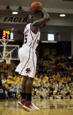 Rakim Sanders transferred to Fairfield after playing three seasons at Boston College.