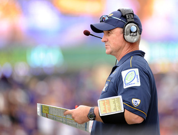 Jeff Tedford has his heyday, but multiple mediocre seasons and a PAC-12 that has only gotten tougher should signal the end of Tedford's reign.