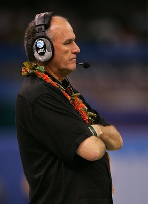 June Jones has multiple successes at Hawaii and SMU, resurrecting two average to below-average programs.  What could he do for a major program?