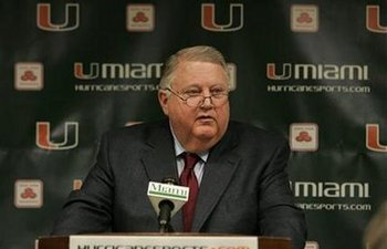 Ex-Miami AD Paul Dee chaired the NCAA COI on the USC case and highlighted the hypocrisy of the NCAA with his comments about USC and his own violations that were more severe
