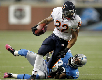 Matt Forte is also on pace to set an NFL record.