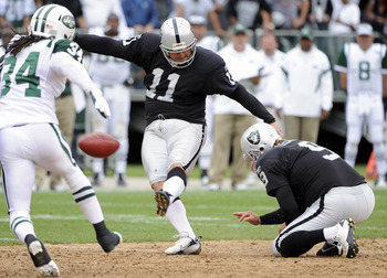 Sebastian Janikowski has made proven that he may have worth being taken in the first round of the NFL draft.