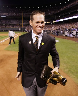 Should Biggio trade in his dinner jacket for a dugout jacket? I certainly think so.