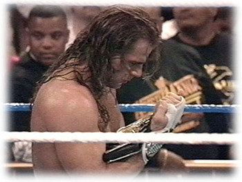 WrestleMania 12: Shawn Michaels Winning Iron Man Main Event