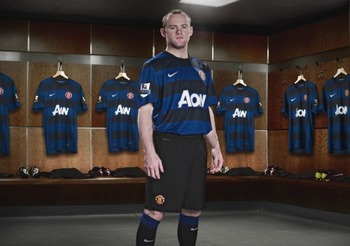 Manchester United's New 2011/12 Away Kit