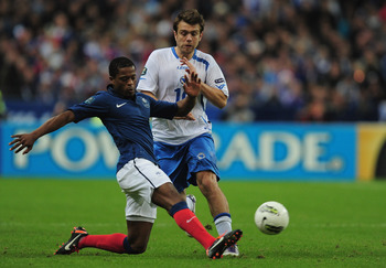 Patrice Evra, not on strike