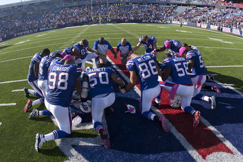 The Bills will be praying for a road win Sunday.