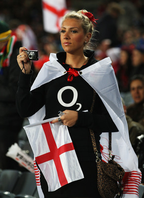 Yes she's a rugby fan but she's hot