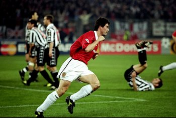 Keane vs Juve '99