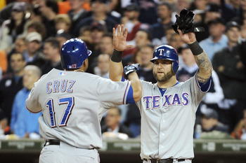 Napoli and Cruz have carried the Rangers so far.