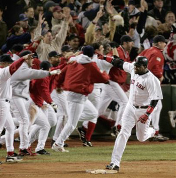 David Ortiz Walk-off Home Run