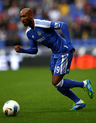 BOLTON, ENGLAND - OCTOBER 02:  Nicolas Anelka of Chelsea in action during the Barclays Premier League match between Bolton Wanderers and Chelsea at the Reebok Stadium on October 2, 2011 in Bolton, England.  (Photo by Clive Brunskill/Getty Images)