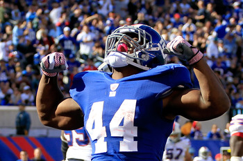 The Giants rebounded at home over the Bills.