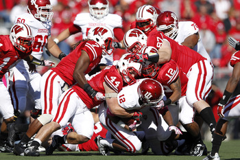 Wisconsin dominated Indiana this weekend