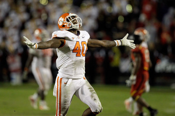 Clemson, ranked No. 7 in this week's BCS poll will feel the sunshine at this year's Orange Bowl in Miami