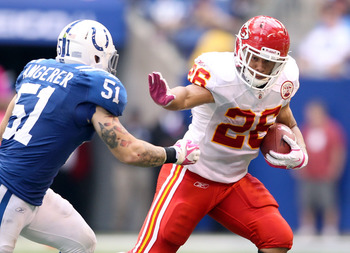 Jackie Battle has been a bright spot for the Chiefs running game.