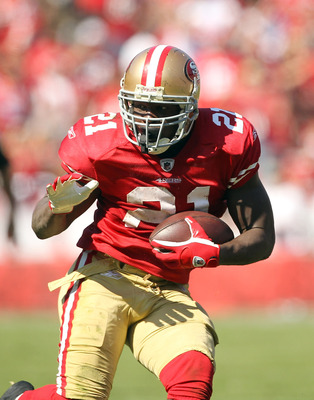Frank Gore has rushed for over 100 yards in three straight games.