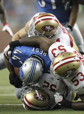 Willis, Bowman and Smith lead the 49er defense.