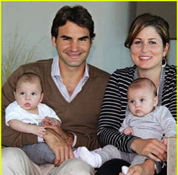 It wouldn't hurt Federer to spend more time with his family