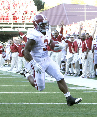Trent Richardson often carries the load for the Tide