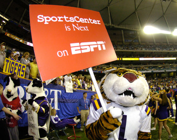 ESPN and LSU: hand-in-hand all season long