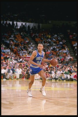 Pooh Richardson as a professional athlete.