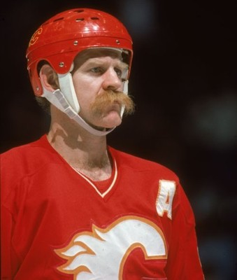 Lanny Mcdonald Ice Hockey - soup sieve moustache