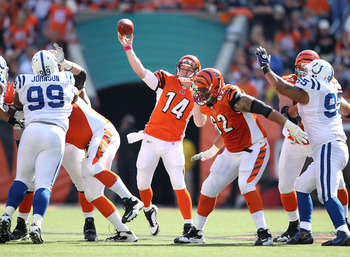 Andy Dalton can air it out without the thought of a Carson Palmer return