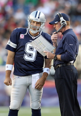 Tony Romo and coach Jason Garrett may have had a bad Tuesday.